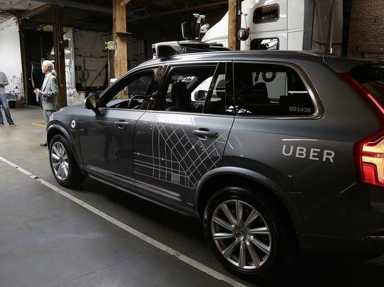Uber Self Driving Cars Arizona