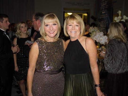 Beth Fortune and Debbie Turner at the 2017 Nashville