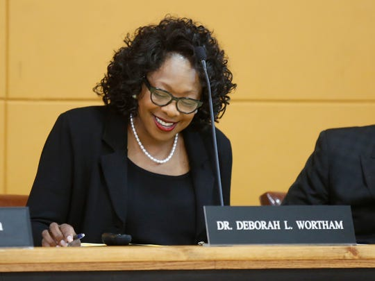 Deborah Wortham is now the permanent superintendent of the East Ramapo school district.