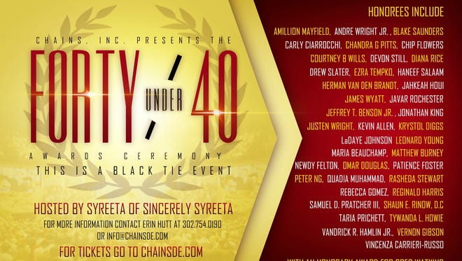 """Chains Inc. honors """"40 Under 40"""""""