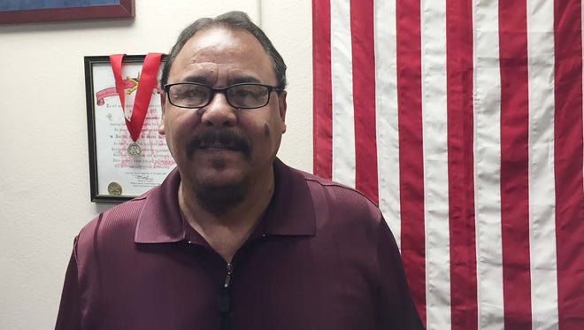 Jose Luis Hernandez is the Soldier for Life/retirement services officer at Fort Bliss. He is the chief organizer for the annual Retiree Appreciation Day set for Saturday.