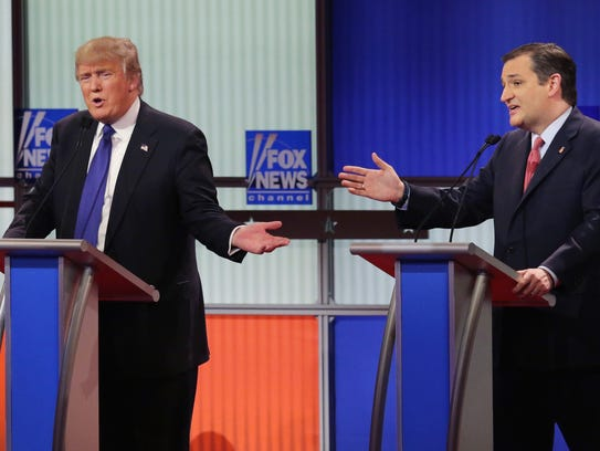 Trump y Cruz han basado sus campañas en ataques mutuos.