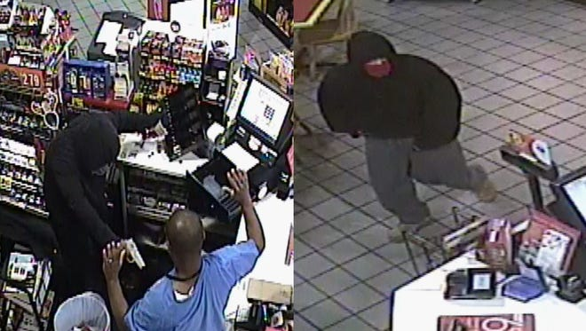 Hattiesburg police are looking for these men in connection to an armed robbery Dec. 27 at a convenience store at 5317 U.S. 49.