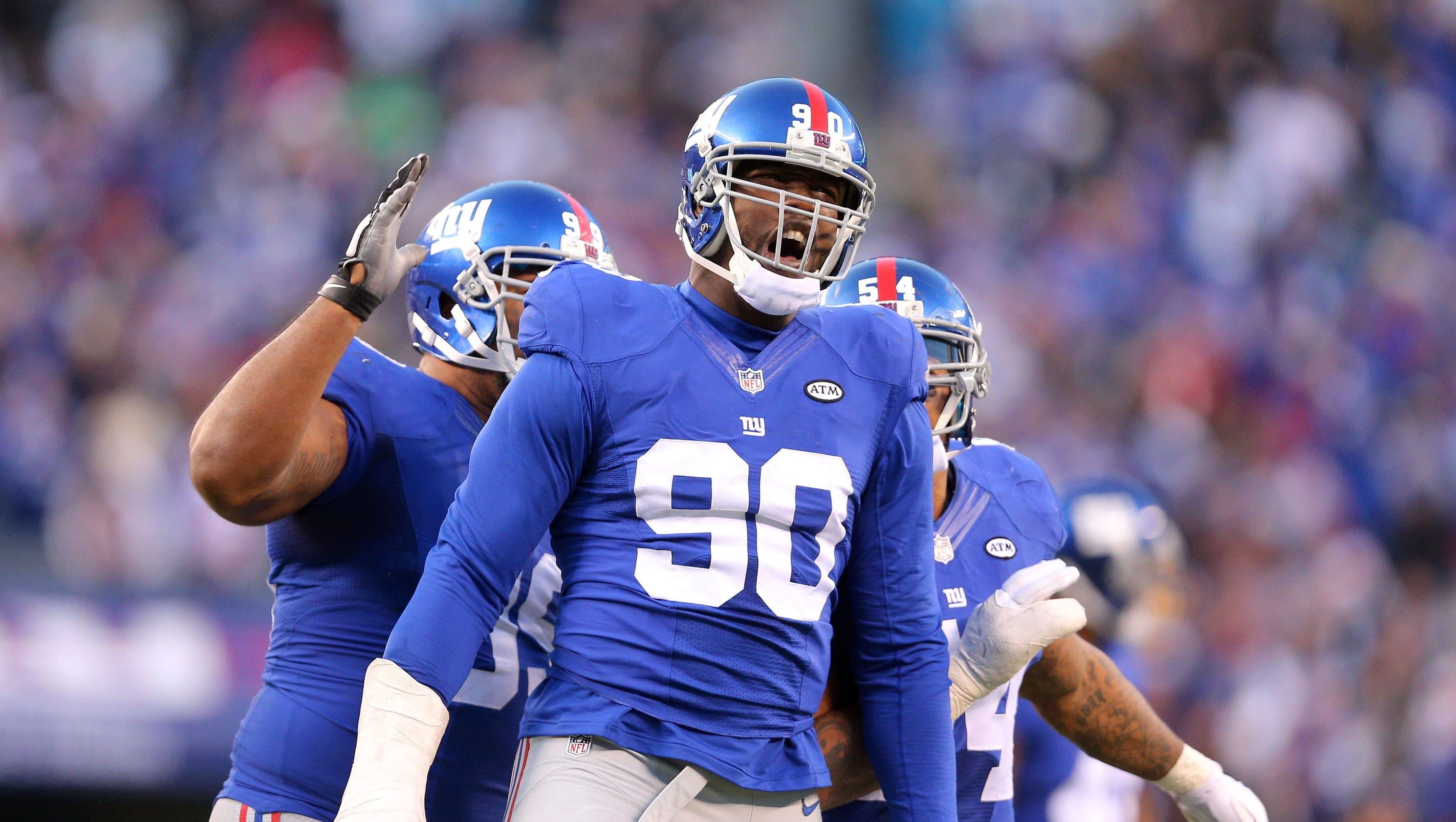 Jason Pierre Paul chooses Giants over Cardinals