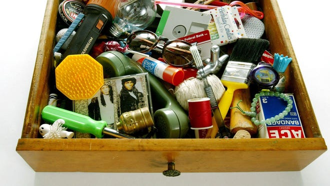 "Your junk drawer may not contain a Milli Vanilli tape — blame it on the rain, or good taste in music — but everyone has a ""drawer of shame"" that needs to be cleaned out."