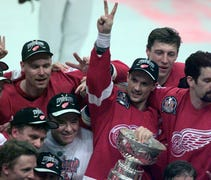 Two Detroit Red Wings teams are in the final 20 of...