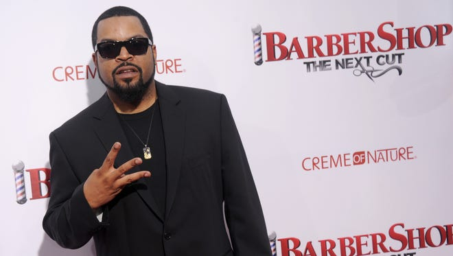 Ice Cube on April 6, 2016 in Hollywood.