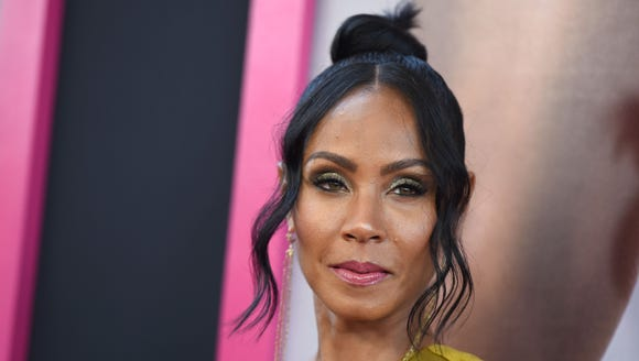 """Jada Pinkett Smith opened up about domestic abuse in an episode of """"Red Table Talk."""""""