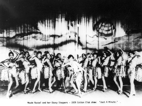 A 1929 publicity photo promoting a show at Harlem's