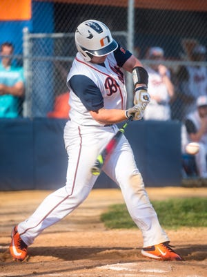 Millville senior Buddy Kennedy recently collected his 100th career hit, a triple in a 3-0 win over Kingsway.