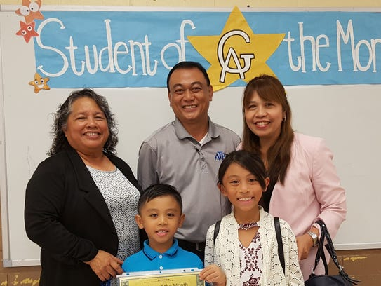 The Guahan Academy Charter School honored its December