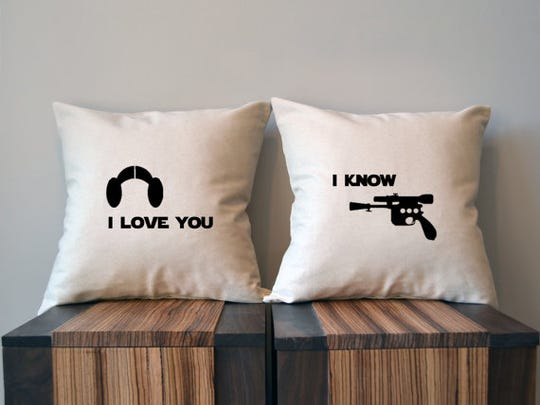 Pillow covers, $31.50.