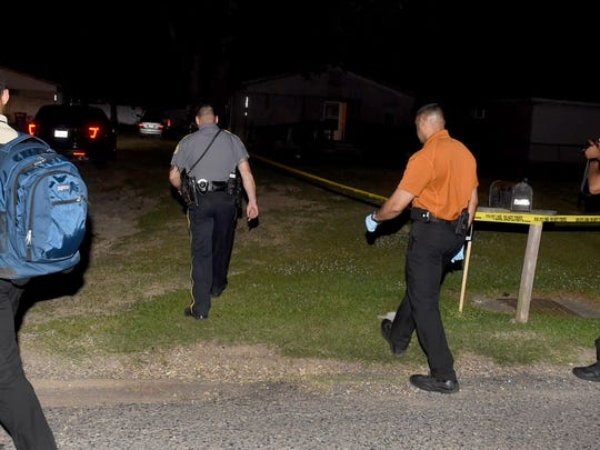 Opelousas police are searching for two suspects in connection to a shooting early Thursday morning.