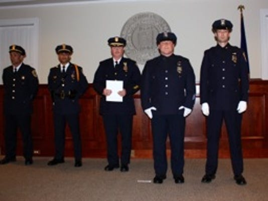 Bedford Police Department awards
