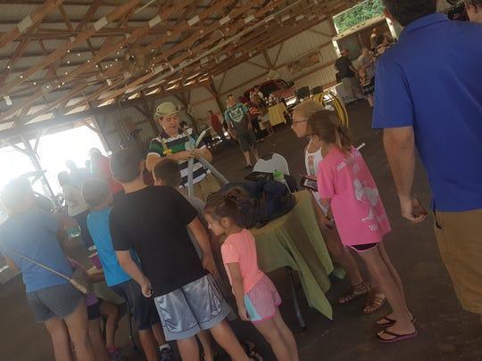The Robertson County Farmer's Market held a Customer Appreciation Day on Saturday.