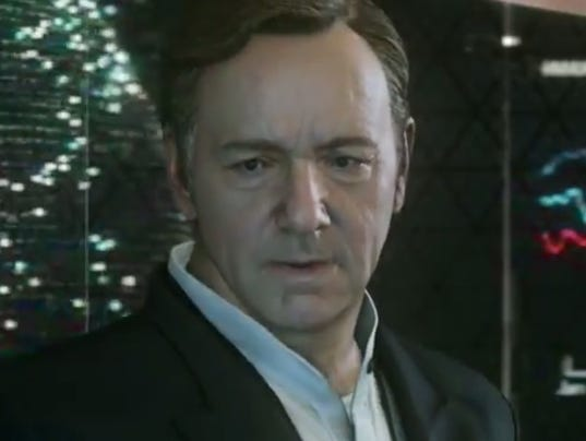 Kevin Spacey Call of Duty Advanced Warfare