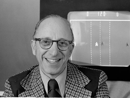 In this Feb. 3, 1977, photo, Ralph Baer, an engineer