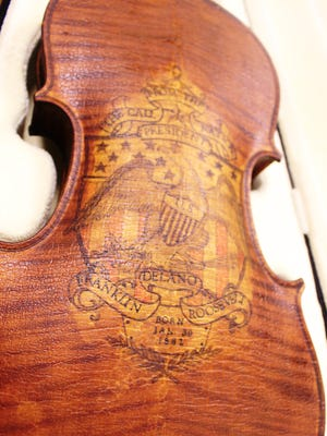 Sheboygan violin maker Alfred Ferdinand Smith once sent a violin to President Franklin Roosevelt as a gift, but the president did not accept the gift and it was returned.