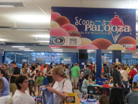A record crowd turned out for the 2017 Scoop-A-Palooza