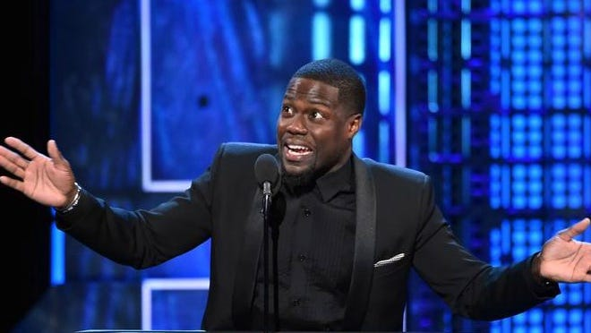 Comedian Kevin Hart performed two sold-out shows Sunday night at Bridgestone Arena, marking the finale of the citywide Wild West Comedy Festival.