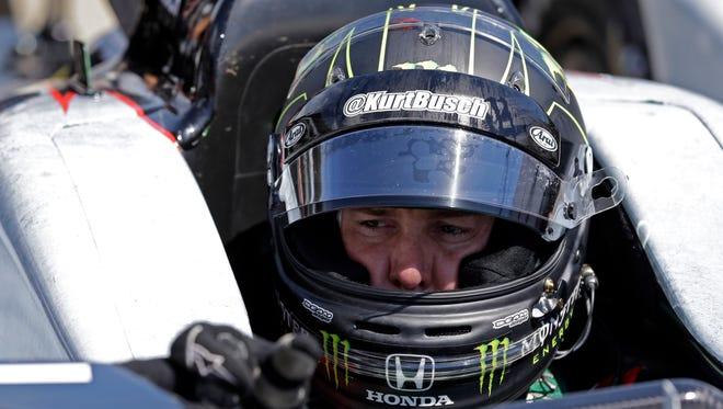 Kurt Busch will try to become the first driver in a decade to compete in the Indianapolis 500 and the Coca-Cola 600 on the same day.