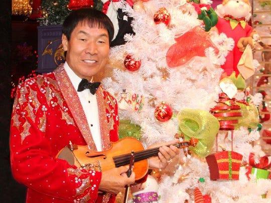 Shoji Tabuchi Christmas Show will Dec 8 at The Strand