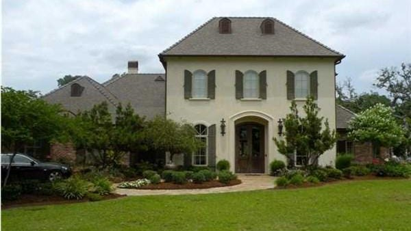 This 6 BR, 51/2 BA home is located in Breaux Bridge along the Bayou Teche and is listed for $1,465,000.