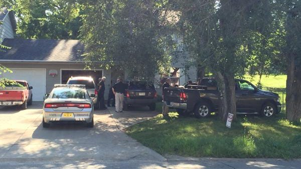 State and federal agents executed a search warrant Wednesday morning at a home in the 1900 block of 63rd Street in Des Moines.