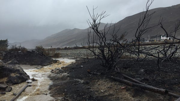 Looking up at southbound Highway 101 from Emma Wood State Beach. GRETCHEN WENNER/STAR FILE PHOTO