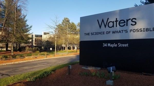 Waters Corp. in Milford announced Wednesday that Udit Batra will take over as chief executive on Sept. 1.