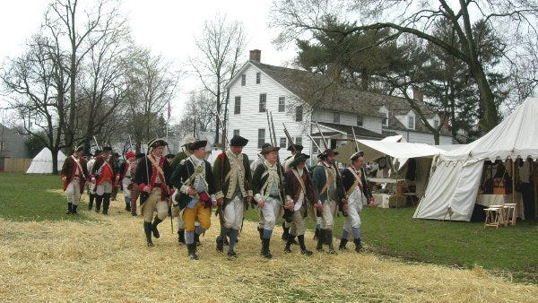 The Battle of Bound Brook Battle Weekend will take place April 14 and 15 in Bound Brook and South Bound Brook.
