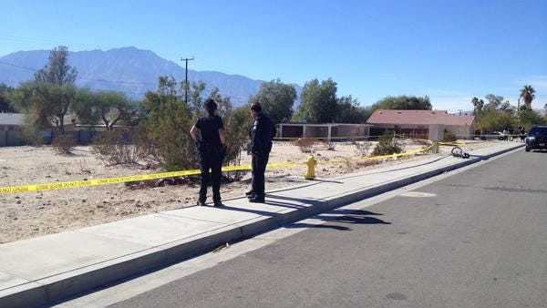 Police are investigating Thursday's shooting.