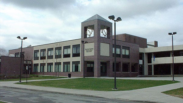 The North Salem Middle/High School will receive natural gas from NYSEG's proposed new pipeline.
