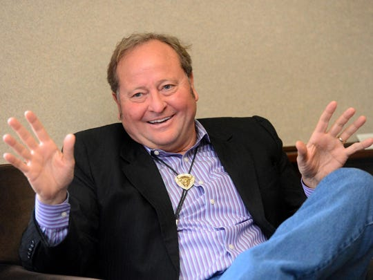 Then-Gov. Brian Schweitzer at the Capitol building