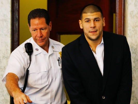 Aaron Hernandez pleads not guilty to murder indictment