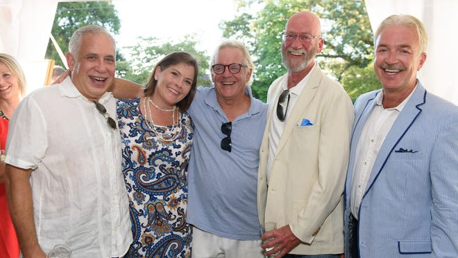 Ashley Capps, Mary Pom Claiborne, Channing Dawson, Donald Thorne and Steve Smith at the Green Thumb Gala.