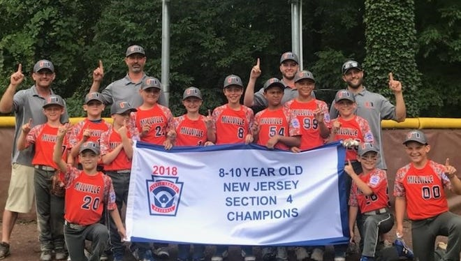 The Millville 10U All-Stars captured the Section IV championship last weekend.