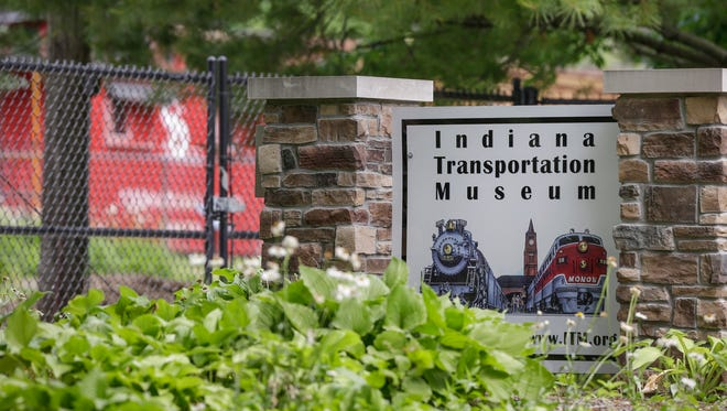 The exterior of the Indiana Transportation Museum in Forest Park in Noblesville, Ind., on Wednesday, June 7, 2017.