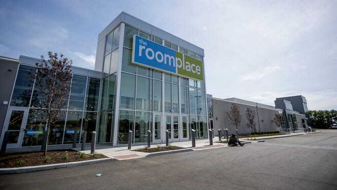 The RoomPlace has recently moved into a new space on East Washington Street in Indianapolis. RoomPlace prides itself on selling furniture for every room of the home. Photo taken Wednesday, June 28, 2017.