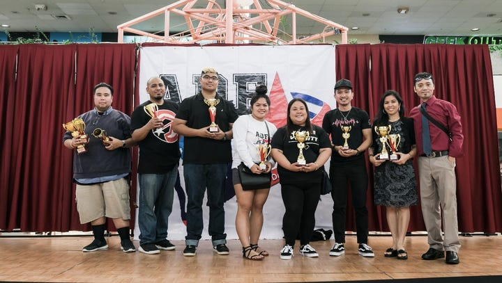 The Guam Allied Dance Force awarded the DOE dance team
