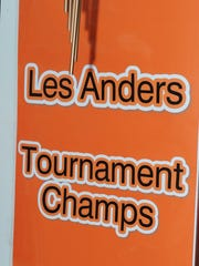 Garden City West won the Les Anders Tournament in 1968, one of the team's biggest achievements.