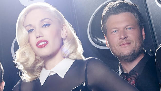 Let's come up with some songs inspired by Gwen and Blake's new relationship, shall we?