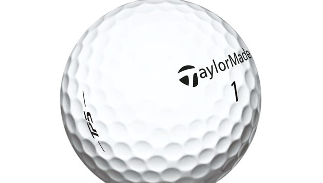 TaylorMade's new TP5 golf ball