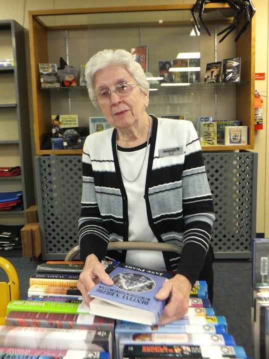 1 Ruth Davis retires, CC library.JPG