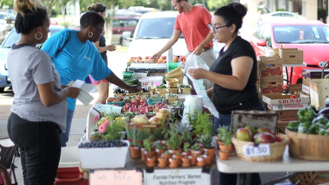 The Tallahassee Farmers Market opens opens its spring season at the pavilion at Market Square at 8 a.m. Saturday.