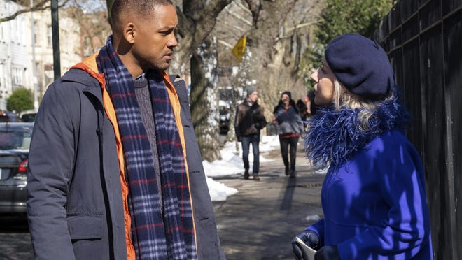 """Will Smith, left, and Helen Mirren star in """"Collateral Beauty."""""""
