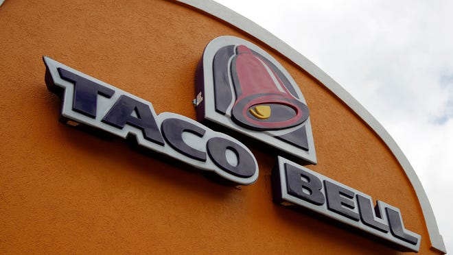 Taco Bell customers can donate to the Armed Forces Families Foundation by purchasing a paper icon for $1 in exchange for a free soft or crunchy taco. The money benefits the foundation.