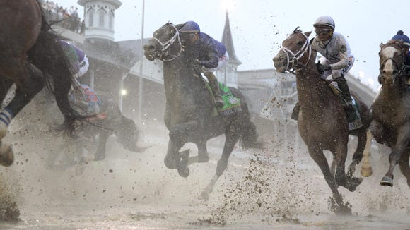 USP HORSE RACING: 144TH KENTUCKY DERBY S RAC USA KY