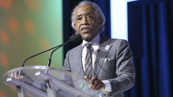 "The Rev. Al Sharpton, pictured in 2019 in New Orleans, said during a digital event Thursday hosted by the Ohio Legislative Black Caucus Foundation that Ohio will ""set the tone"" for Black voters around the country."