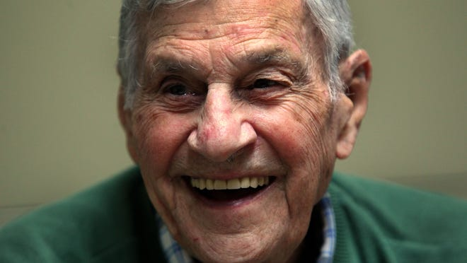 """Joseph """"Bob"""" Pocoroba helped liberate the French town of Bitche during World War II. On Friday, the French government will bestow the Chevalier of the Legion of Honor — knighthood — to Pocoroba and 26 others during a ceremony in New York City."""